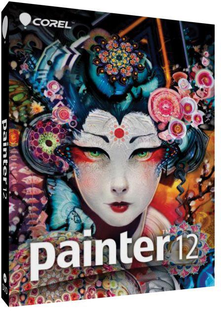Caixa do Corel Painter 12