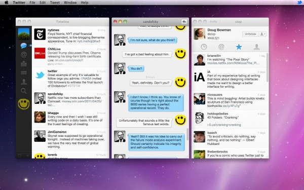Twitter 2.1 para Mac