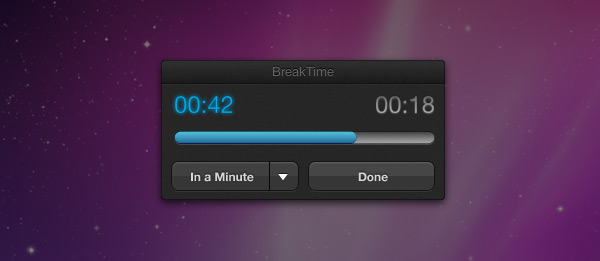 BreakTime - Mac OS X