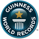 Logo - Guinness World Records (Livro dos Recordes)