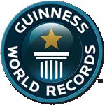 Logo - Guinness World Records (Livro dos Recordes)