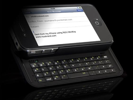 NUU MiniKey para iPhone 4