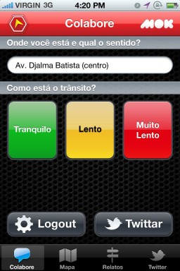Trânsito Manaus - iPhone