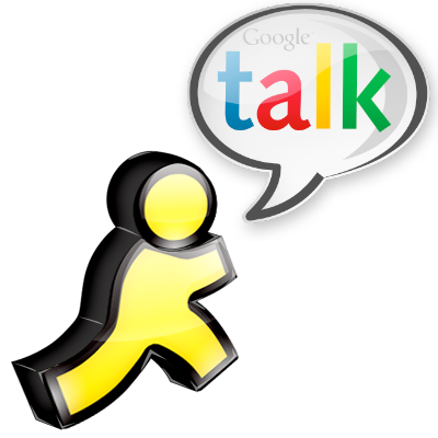 AIM e Google Talk