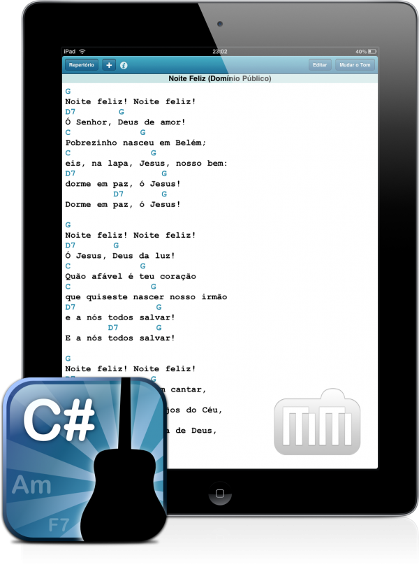 RoDen - Cifra no iPad