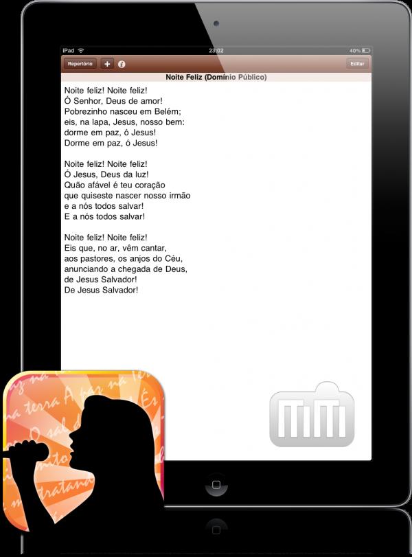 RoDen - Letra no iPad