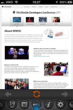 WWDCounter - iPhone