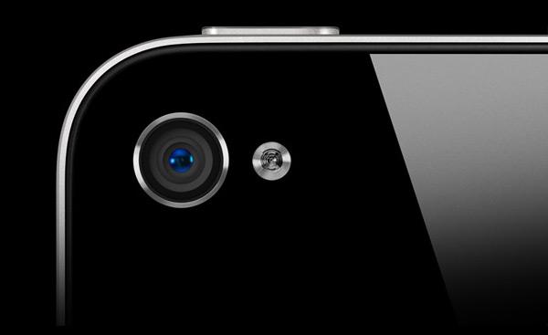 Câmera traseira do iPhone 4