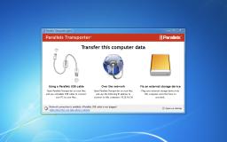 Parallels Transporter - Windows