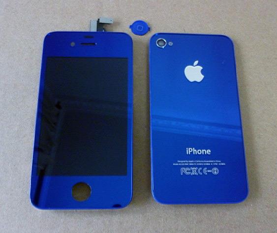 iPhone 4 azul