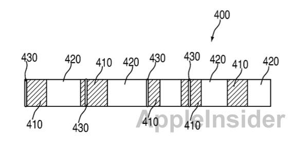 Patente de armazenamento parcial de faixas
