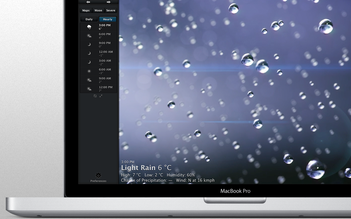 Weather HD para Mac