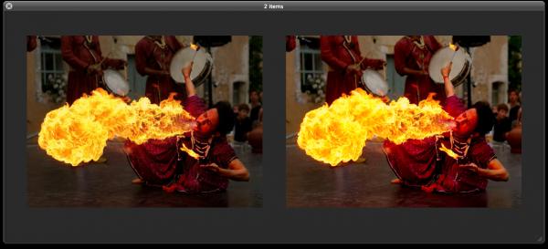 Comparação de JPEG e WebP