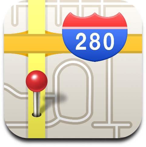 Ícone - Google Maps do iOS