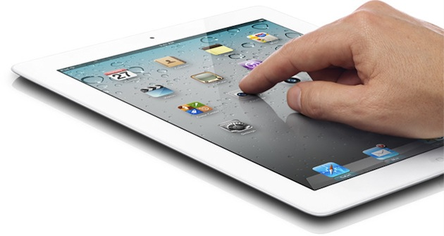 Usando um iPad