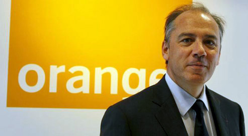Stephane Richard, CEO da Orange