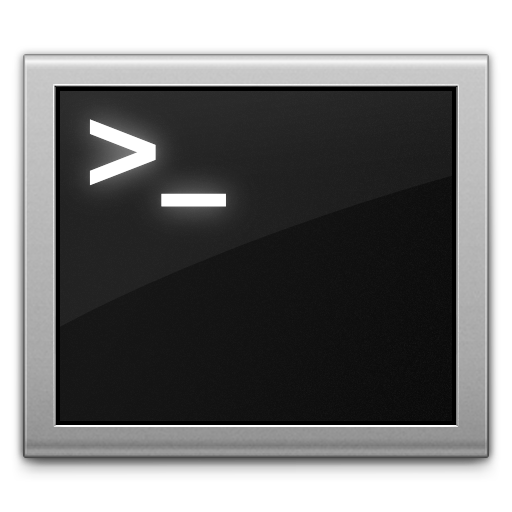 Ícone do Terminal
