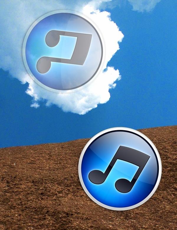 iTunes espelhado na nuvem
