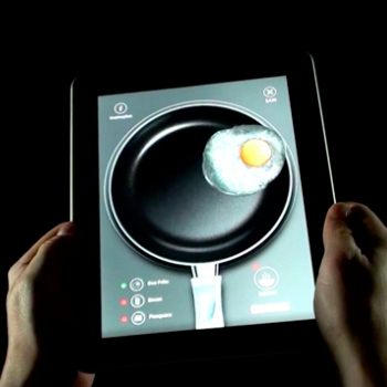 Publicidade da Tramontina no iPad