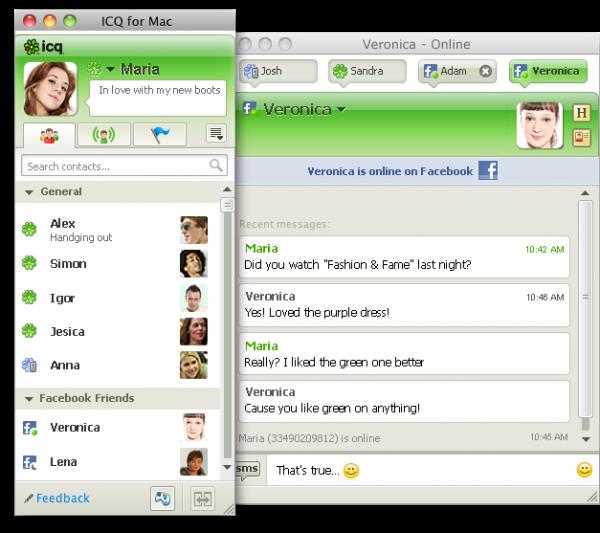 ICQ para Mac