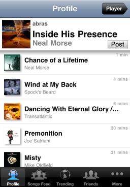 SoundShare - iPhone