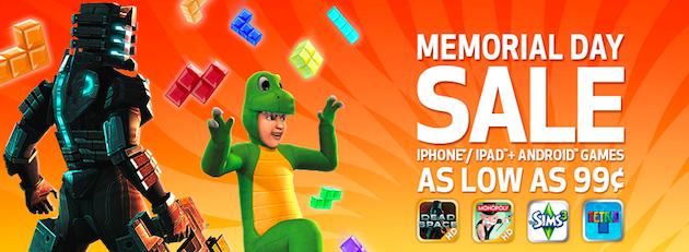 Memorial Day Sale - EA Games