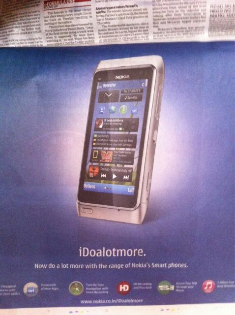 Campanha iDoalotmore na Índia - Nokia