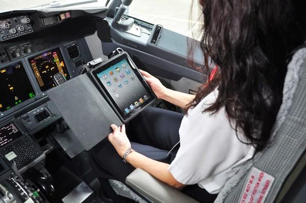 iPad na Alaska Airlines