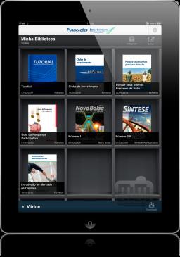 Publicações BM&FBOVESPA no iPad