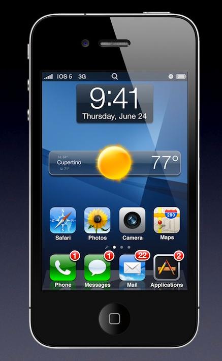 Conceito do iOS 5