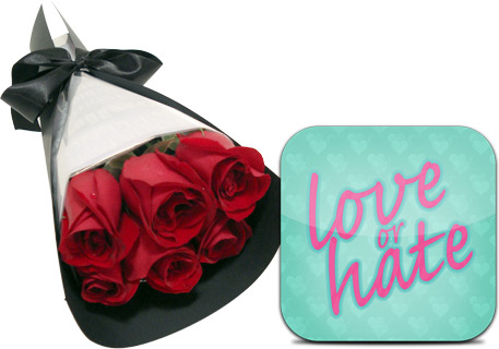 Buquê do Love or Hate