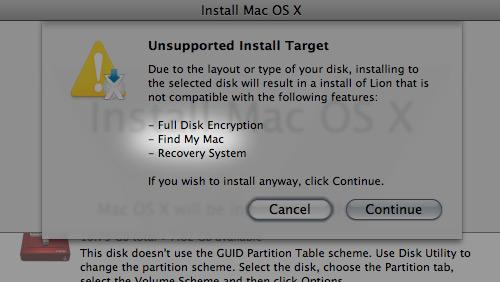 Find My Mac no Lion