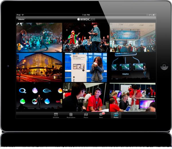 WWDC no iPad