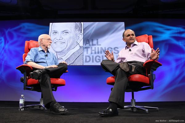 Shantanu Narayen, CEO da Adobe, na D9