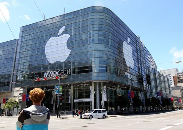 Moscone West pronto para a WWDC 2011