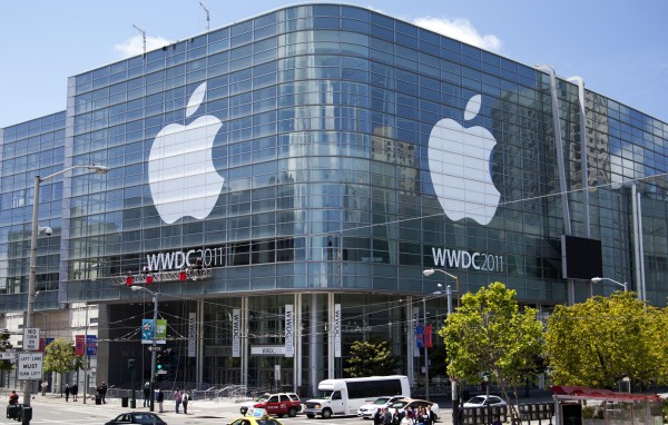 Moscone West pronto para a WWDC 2011