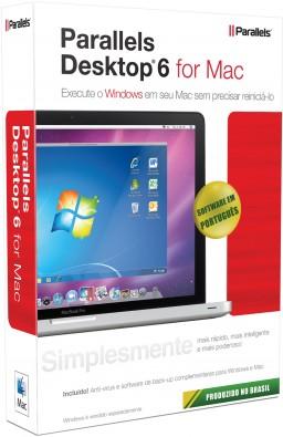 Caixa - Parallels Desktop 6 para Mac