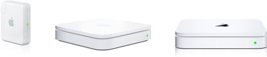 Bases Wi-Fi da Apple