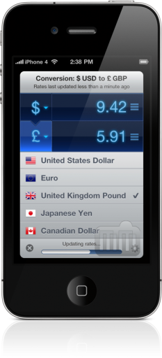 Currencies para iOS