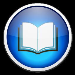 Mockup de ícone do iBooks no Mac OS X