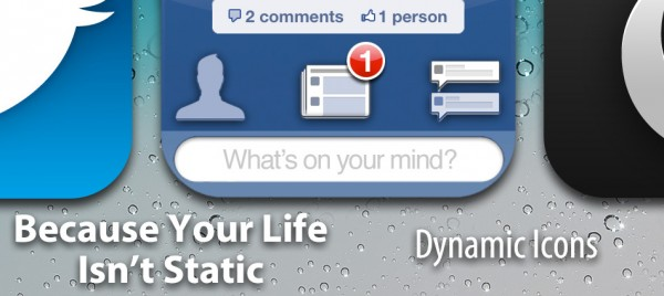 iOS 5 Concept - Dynamic Icons