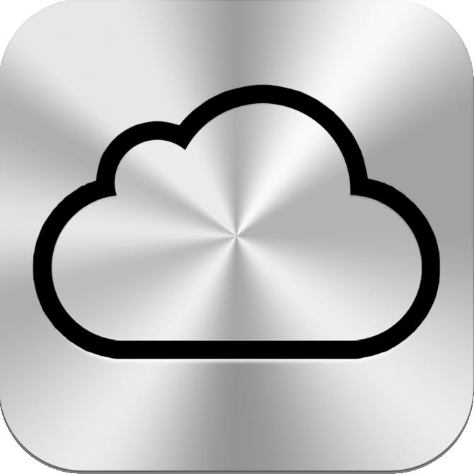 Mockup de ícone do iCloud