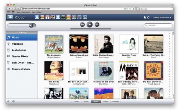 Web apps da Apple com iCloud à la MobileMe