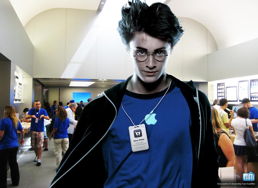 Harry Potter em Apple Retail Store