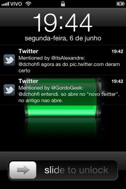 Notificações - iOS 5