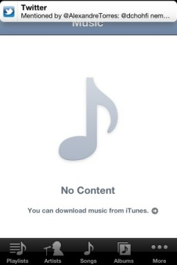 Notificação - iOS 5