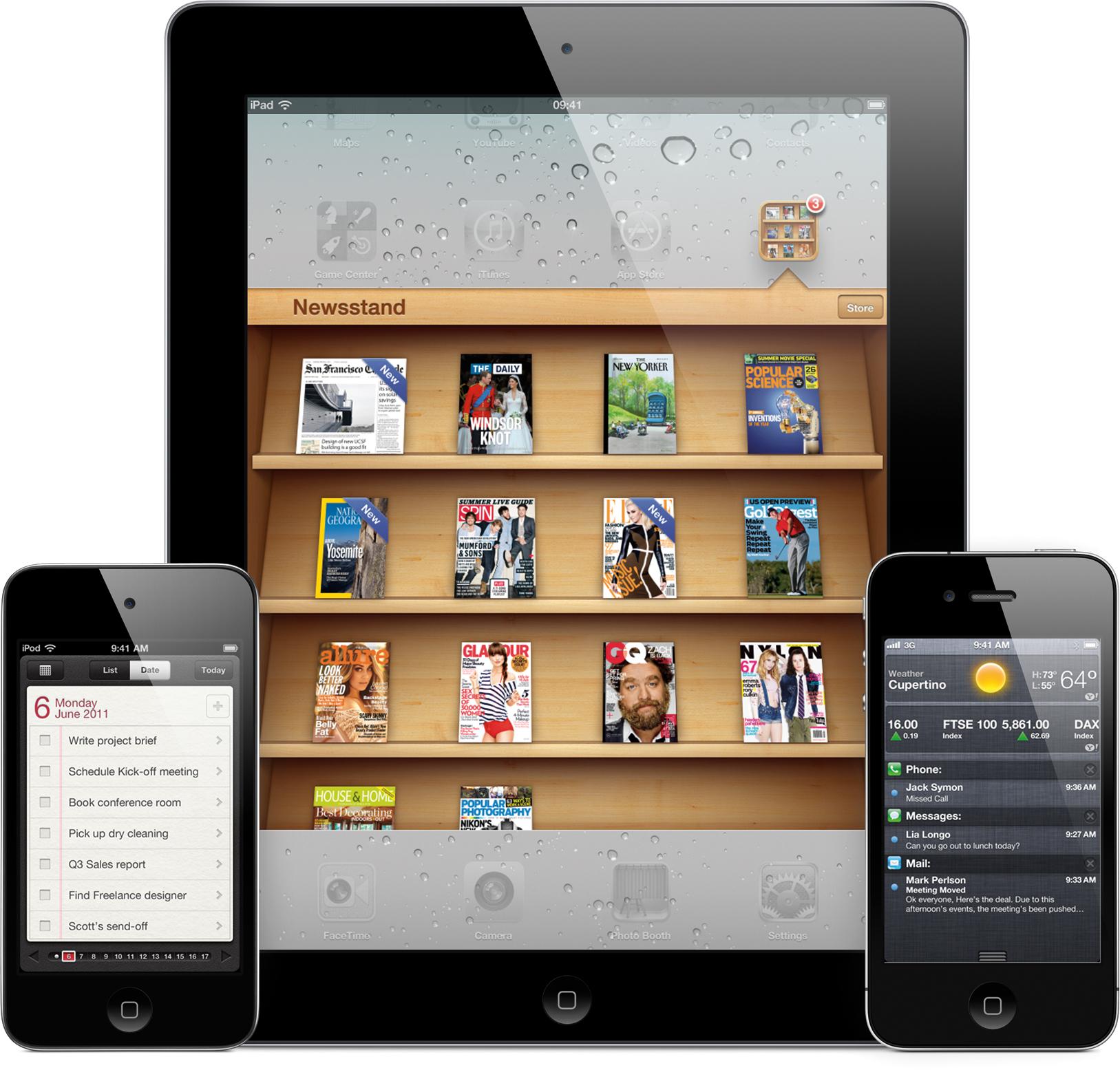 iOS 5 em iGadgets - Newsstand, Reminders e Notification Center