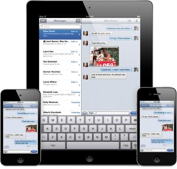 iOS 5 em iGadgets - iMessage