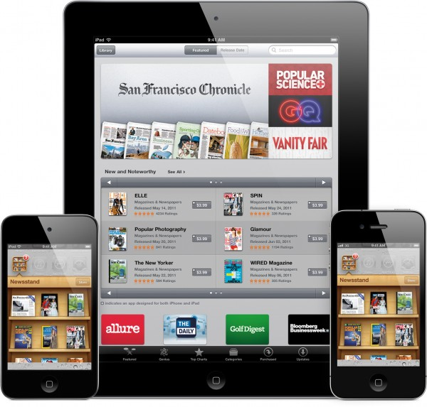 iOS 5 em iGadgets - Newsstand