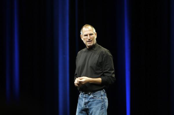 Steve Jobs apresentando a WWDC 2007